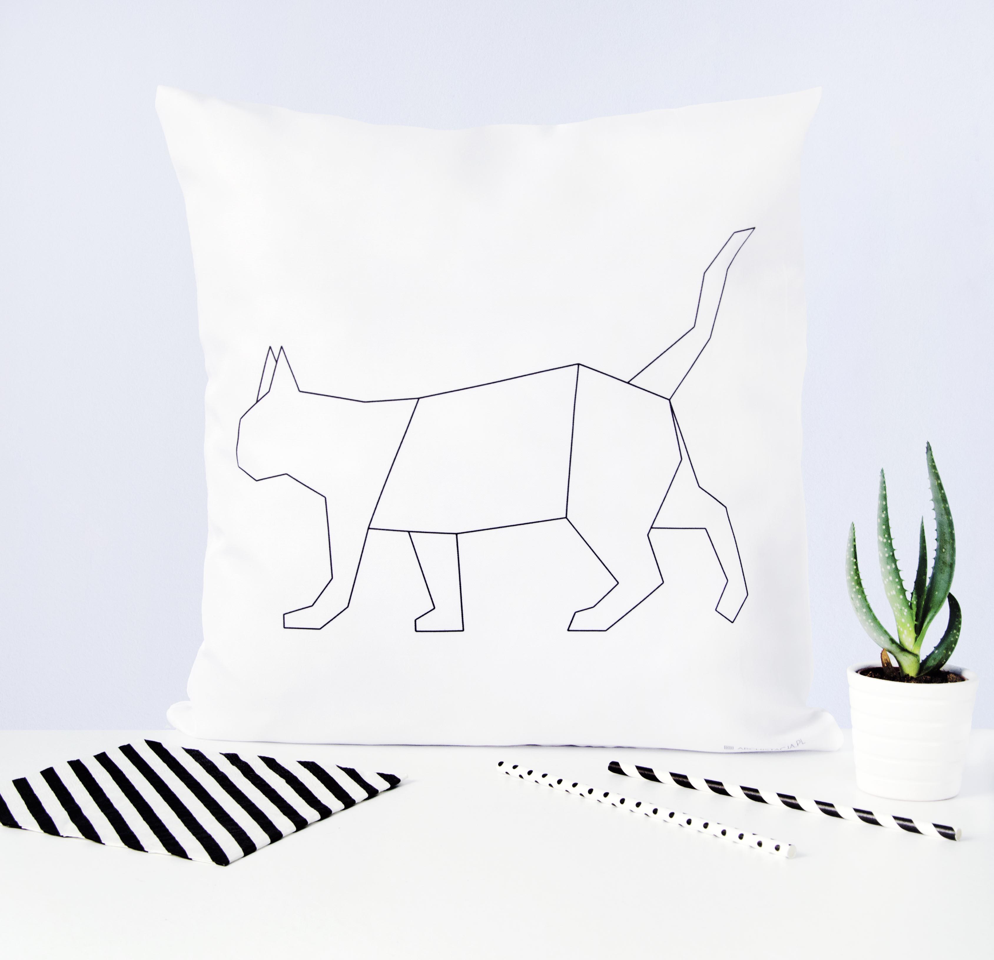 Kot Geometryczny Skleparchistacja
