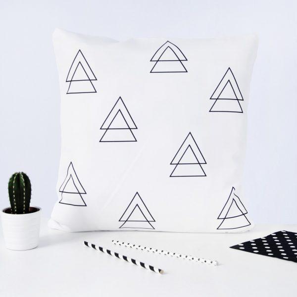 podwójne trójkąty