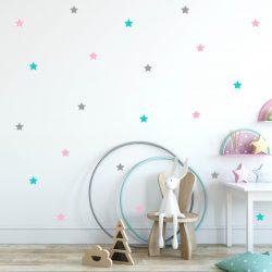 naklejki na ścianę gwiazdy