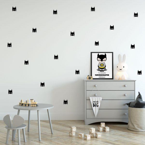 naklejki na ścianę batmany