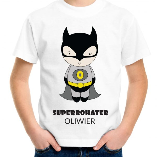 koszulka z superbohaterem